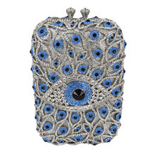 Neueste big kristall abendtasche fit in iphone samsung frauen handtasche große hochzeit geldbörse prom messenger handtaschen sc513