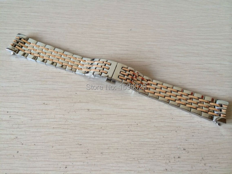 ФОТО 19mm (Buckle 16mm) NEW T41.L264. Watch Band Locke series Stainless Steel band L164/264-1