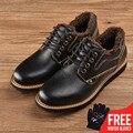 Botas de piel de vaca de invierno directo de fábrica de OSCO PUBG nuevas botas de moda para hombre Casual WARN Ankle botas # RUC3635