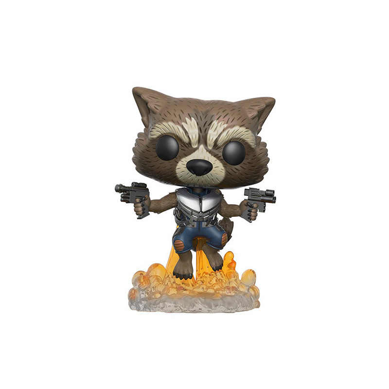 FUNKO POP Marvel movie đồ chơi Người Giám Hộ của các Galaxy 2 Tên Lửa Grootted Hành Động Hình Bộ Sưu Tập đồ chơi cho trẻ em Món Quà sinh nhật