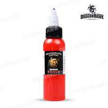 Dragonhawk TATTOO INK 1-PACK Red Color Set 2oz Bottles Color Ink SL048-1