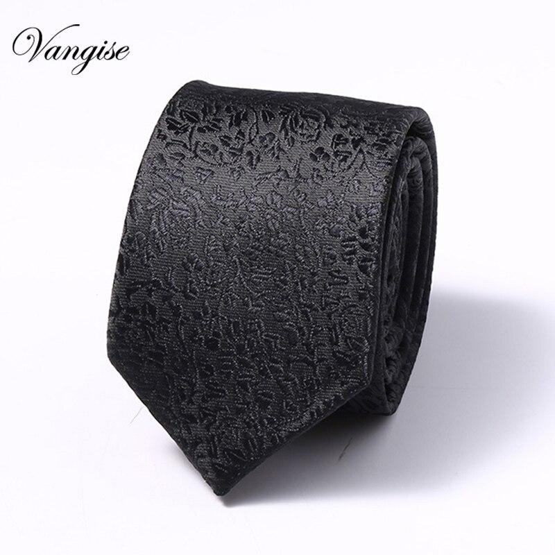 New Design Mens Tie Luxury Man Floral Paisley Neckties Hombre 6 cm Gravata Classic Business Casual For Wedding