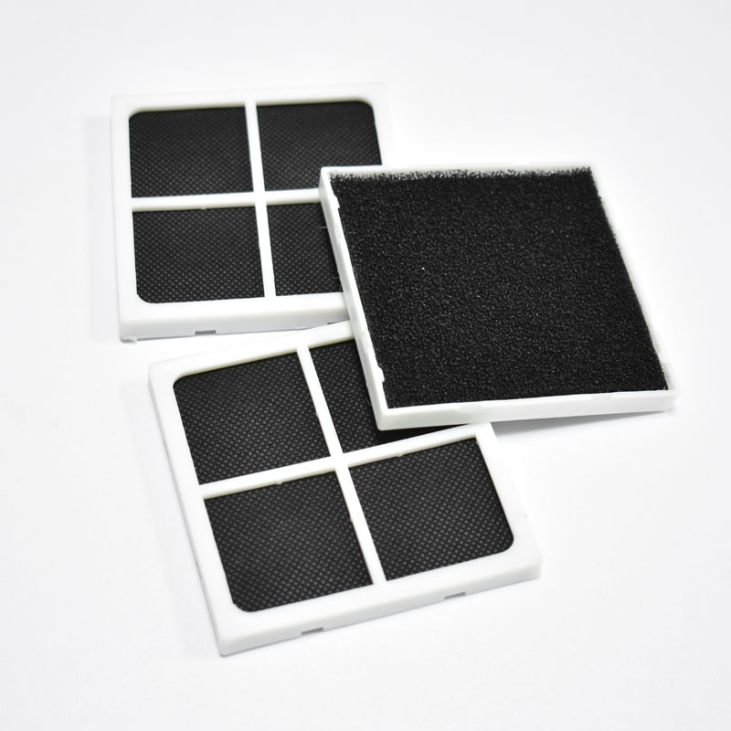 3pcs Air Purifier Filter Cleaning Filter Hepa Filter Replacements For Kenmore LG LT120F ADQ73334008 ADQ73214404 ADQ73214402