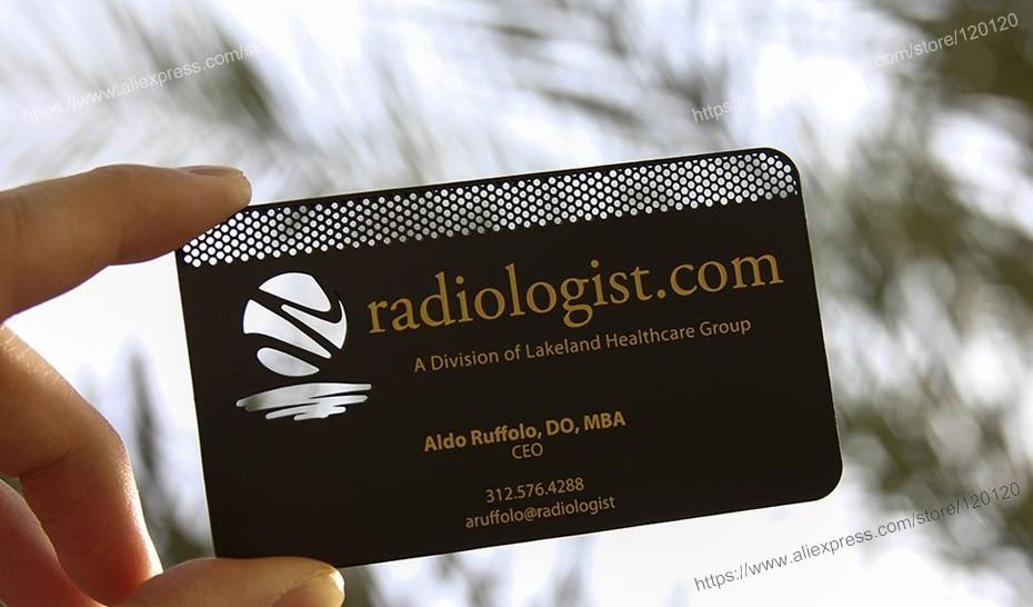 Creative personality metal card metal membership card metal black ...