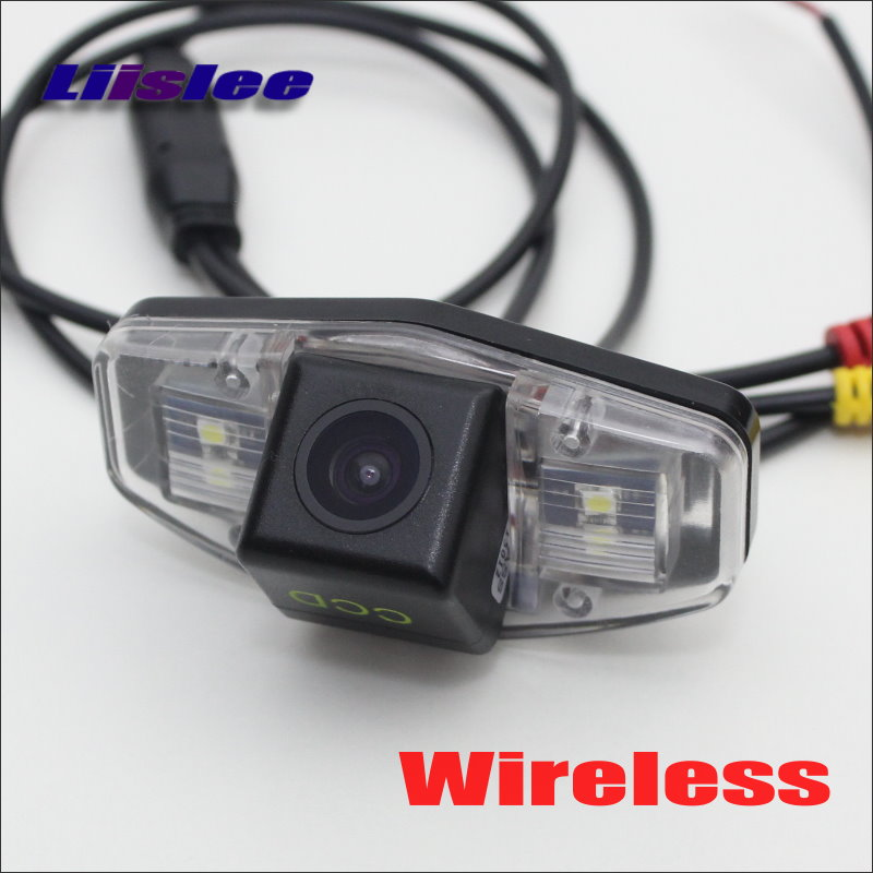 Liislee For Acura MDX TSX RL TL Wireless Rear Camera