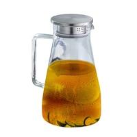 1 ชิ้น/เซ็ต Handcraft แก้วทนความร้อนสแตนเลสแก้วเหยือกชากาน้ำชาน้ำเหยือกน้ำผลไม้สำหรับตกแต่งห้อง...