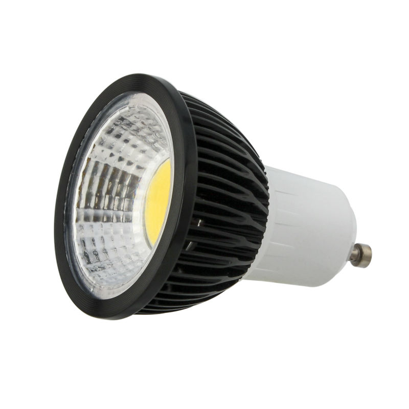 10X Super Bright 5W 7W 9W GU10 LED Bulb Lights 110V 220V Dimmable CREE Led COB Spotlights Warm/Natural/Cool White GU10 LED lamp