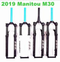2019 Manitou M30 bicicletas mountain bike 26 27.5 29 MTB Bicycle bike Fork air marvel Pro suspension latest HIMALO вилка для велосипеда