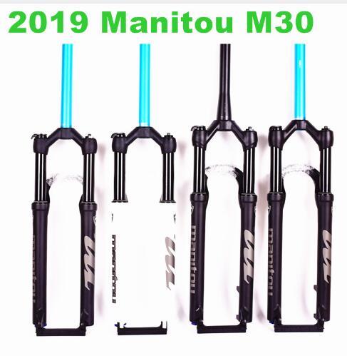 2019 Manitou M30 bicicletas vtt 26 27.5 29 VTT Vélo vélo Fourche air marvel Pro suspension dernière HIMALO