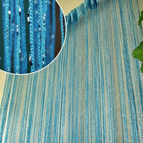 Bon Tassel Silver Silk String Curtain Window Door Divider Sheer Curtains  Valance In Curtains From Home U0026 Garden On Aliexpress.com | Alibaba Group