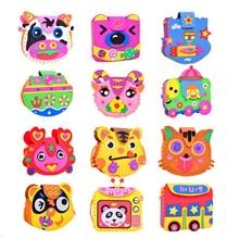 DOLLRYGA Jouet Enfant Children's Educational Toys Girl Handicraft lote Bag Diy Kid Art and Craft for Children Knutselen Kinderen