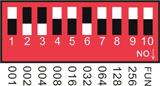 12 Channel RGB DMX 512 LED Controller Decoder Dimmer Driver For LED Strip Module Light DC5V-24V