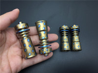 Domeless GR2 Colorful Titanium Nail Domeless GR2 Both 14mm 18mm Female Joint titanium nails
