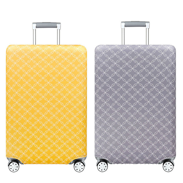 Thicker Travel Suitcase Cover 19-32 Inch Elastic Multicolor Luggage Covers Trolley Dust Protective Case Cover Travel Accessories