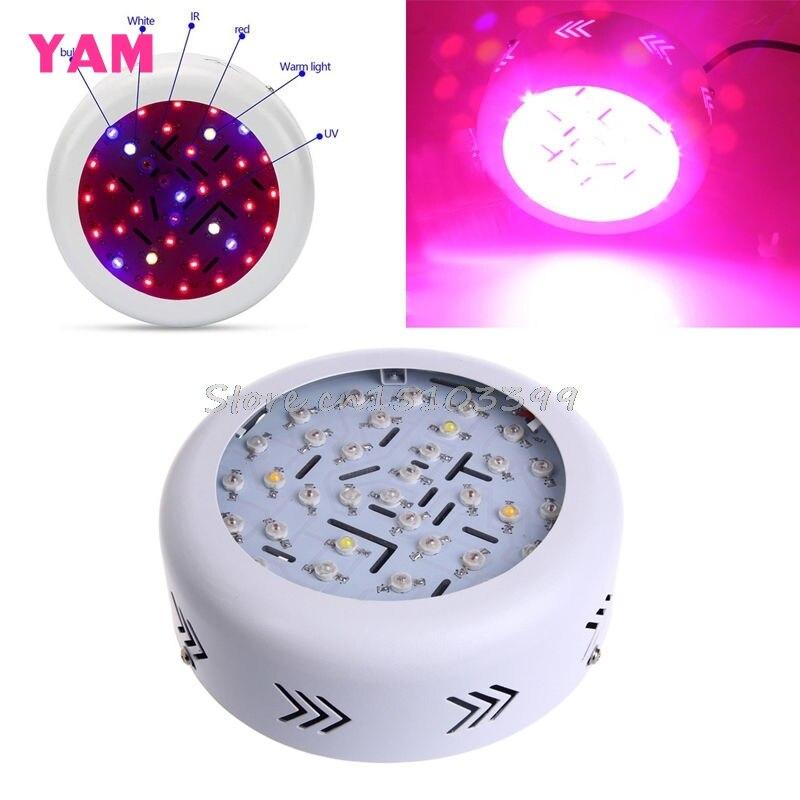360W AC 85-265V 36 LED UFO LED Grow Light Full Spectrum Hydro Flower Plant G08 Whosale&DropShip