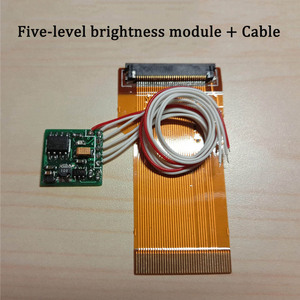 Image 3 - Replacement For GBA Backlight + Five level Brightness Module 32/40 pin Cable High lighting Aurora Backlight Kits For GBA Console
