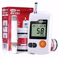 Buena Enfermera Médica Diabéticos Monitores Hogar 100 Tiras de 100 Lancetas Agujas de Azúcar En La Sangre Medidor de Glucosa Glucometer