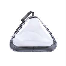 Ladies Transparent Cosmetic Bag Womens Zipper Travel Storage Waterproof Wash Toiletry Pouch Packing Cubes Tote