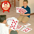 Oversized Spuer Deck Card Poker Big Huge Large A4 Paper Size (Nine Times Than Normal Deck) Magic Props