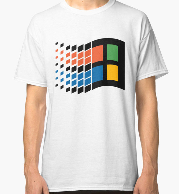 Windows 95 Vaporwave s T-Shirt Größe S-3XL