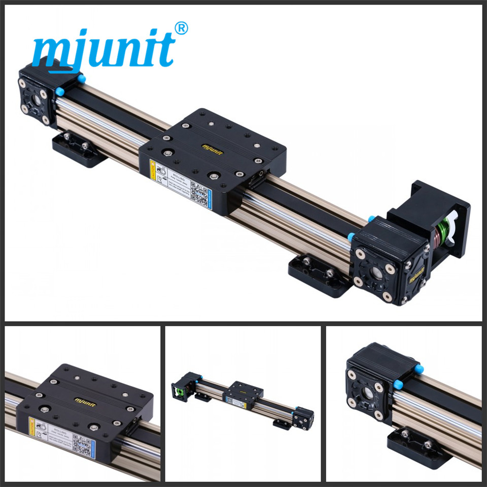 mjunit MJ40 linear motion actuator with 900mm stroke mjunit mj40 miniature linear guideway with 400mm stroke
