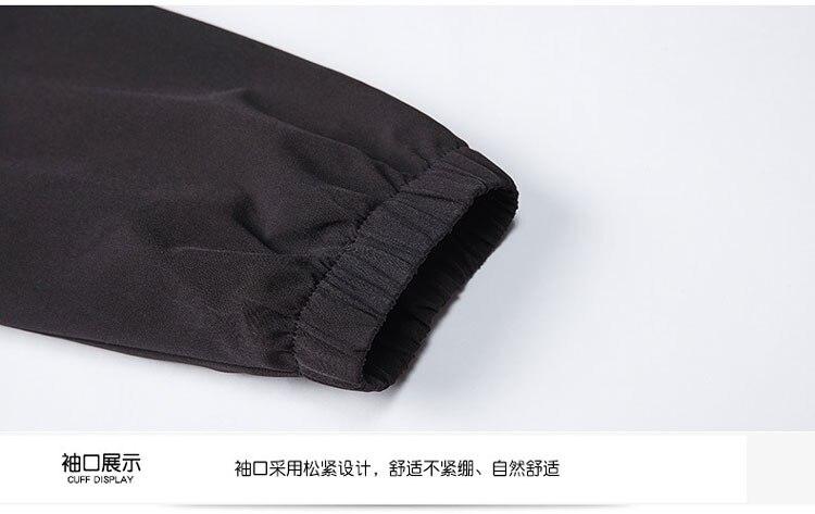 terno casaco impermeável e respirável jaquetas leves
