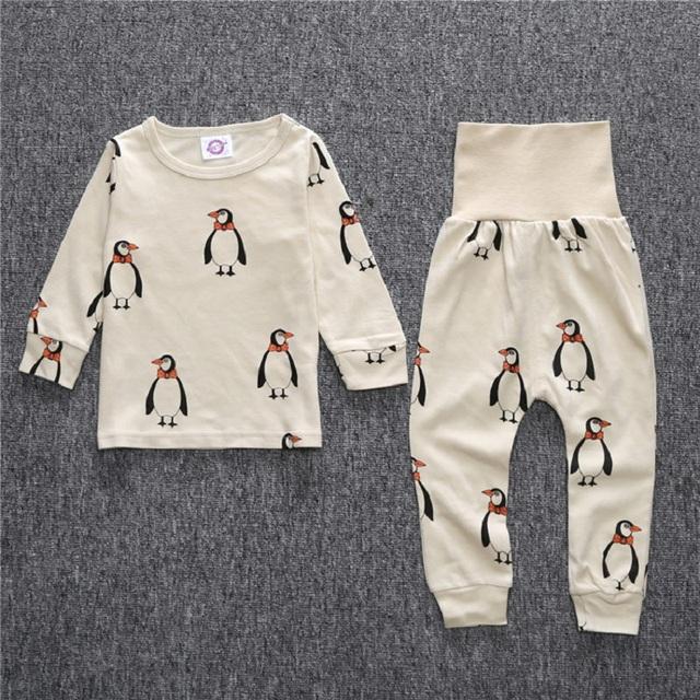 Kid's Patterned Pajamas Sets