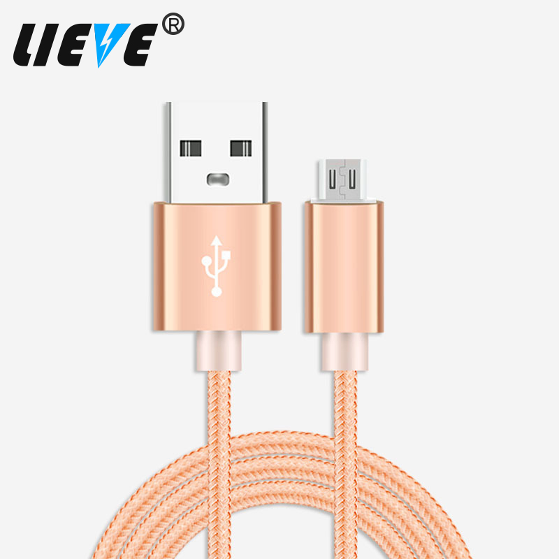200cm/300cm Long Micro USB Cell Phone Charger Charging Wovens