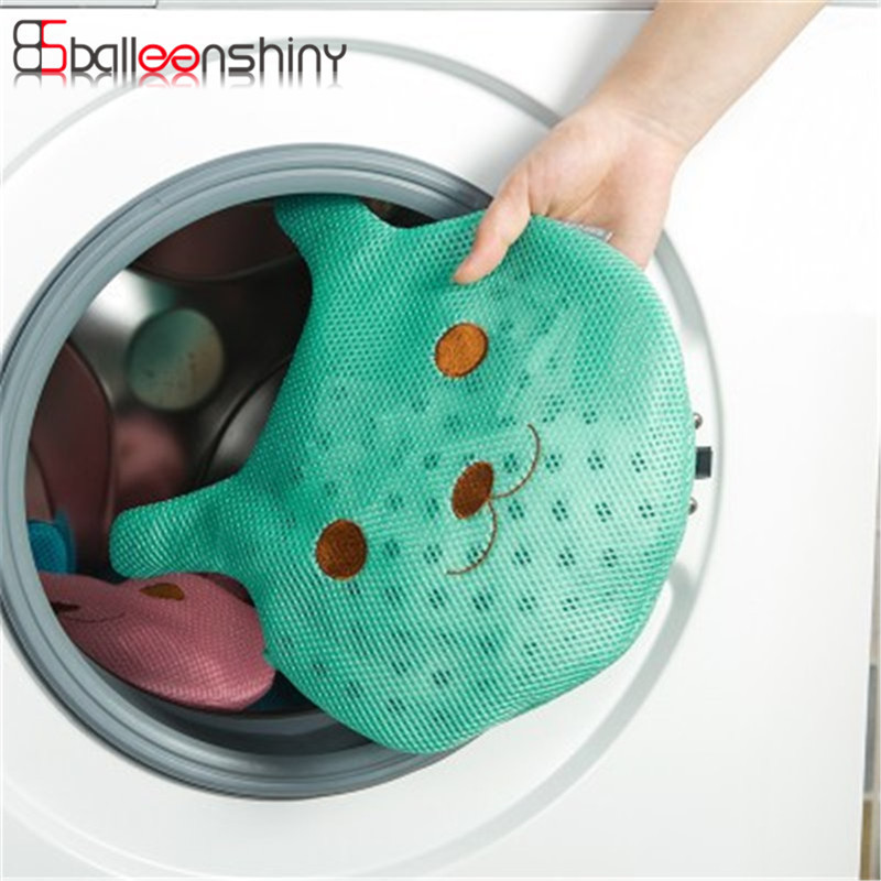 Polyester Mesh Laundry Bag Storage Container Washing Machine to Bra Underwear Protection Wash Bag Tidy Holder