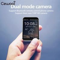 Cewaal Smart Phone Watch 2G Calls MTK2502C 2.2 Inch Screen SIM Card High Definition Display Bluetooth Wrist Cellphone Watch