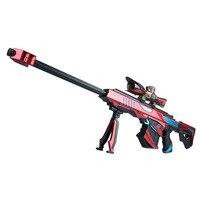 Outdoor Toy Gun Barrett Water Gun Manual Child Child Boy Toy Gun Crystal Bomb Grab 98k Sniper Can Fire Bullets