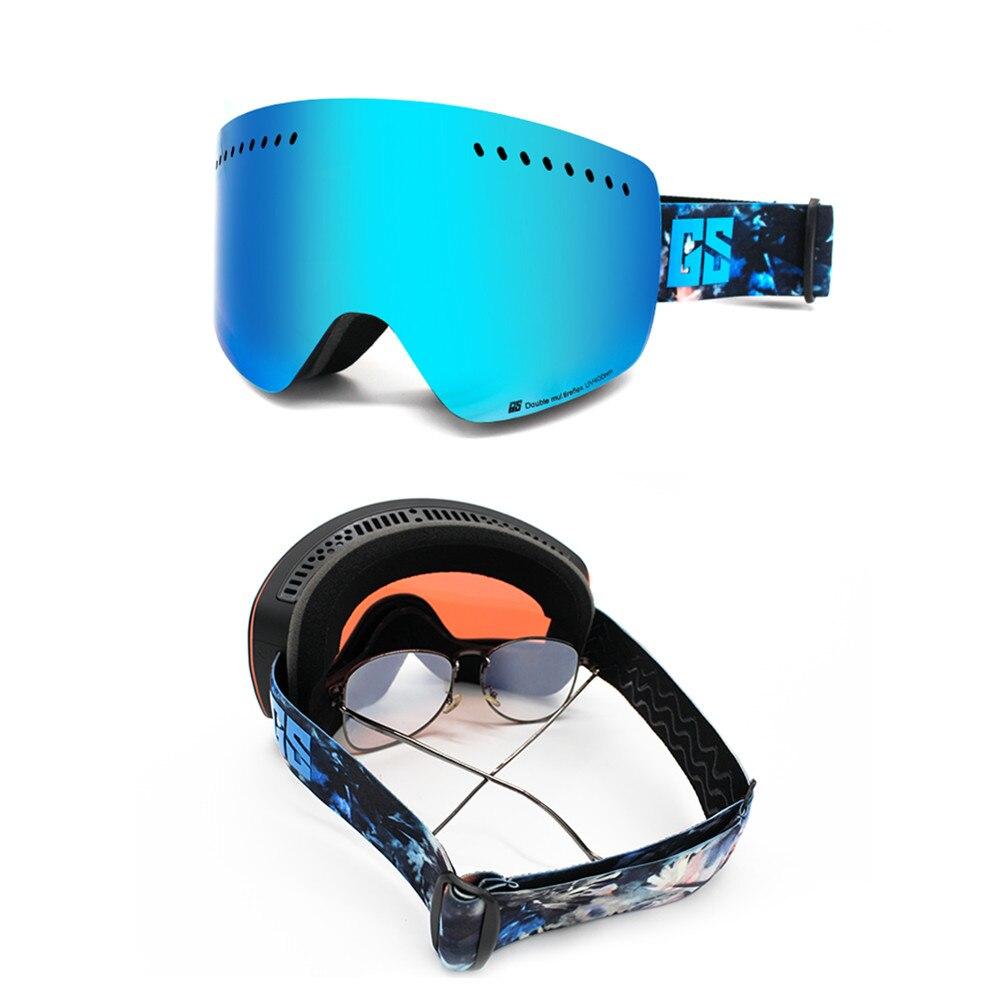 GS wintersport lunettes de ski lunettes de ski neige lunettes de snowboard motoneige ski et snowboard accessoires de ski - 5