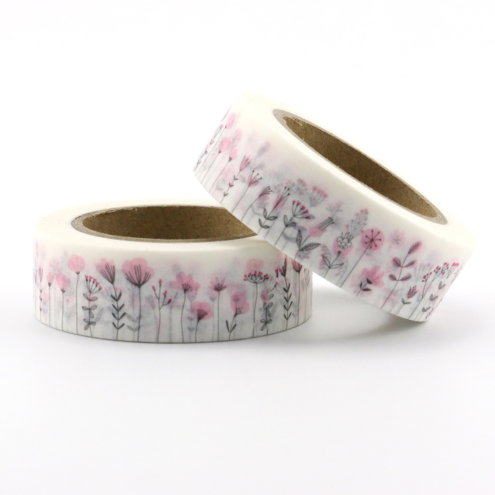 1pcs 10m Floral Washi Tape Stationery Diy Scrapbooking Photo Album School Tools Kawaii Scrapbook Paper Washitape Stickers Mask