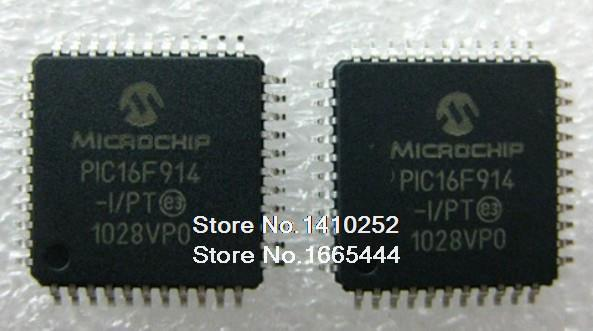 Free Shipping PIC16F914 I PT PIC16F914 QFP44 new and Original in stock
