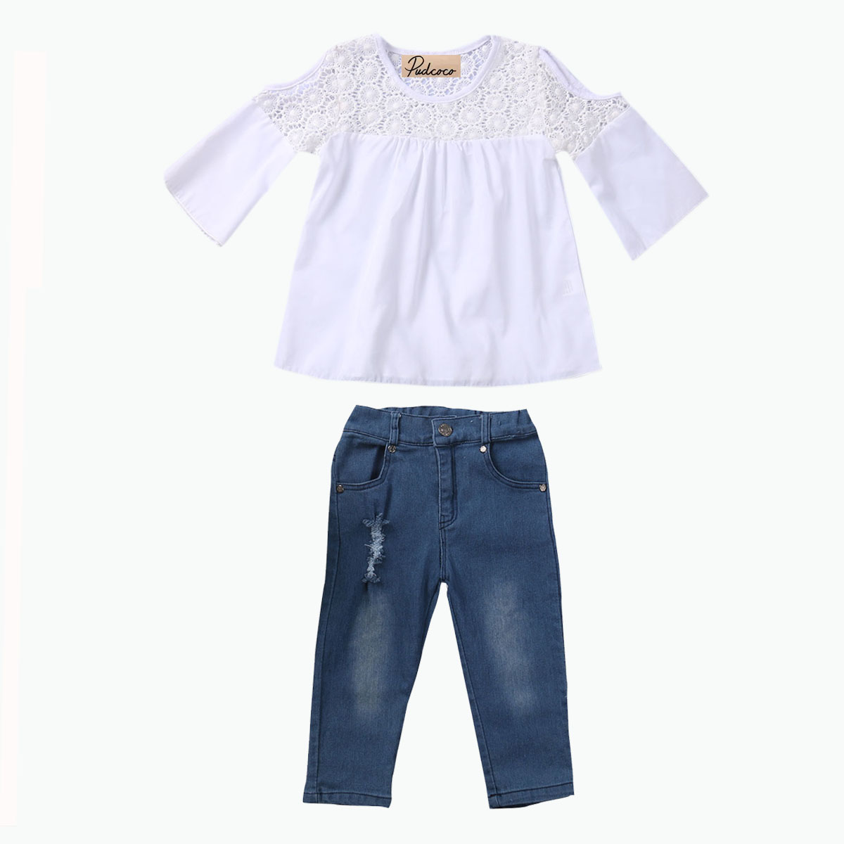 Compare Prices on White Kids Jeans- Online Shopping/Buy Low Price ...
