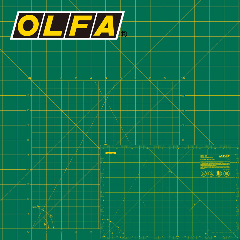 2018 Direct Selling Sale Olfa Rm cg/sg/mg Plate, Japan, Original, Imported, Single sided, Self healing, Blade/ Hob, Pad
