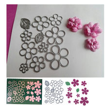 106*86mm lower Leaf Cut Dies Embossing Steel Cutting Dies Stencils DIY Scrapbooking Card Album Photo Template Metal Craft(China)