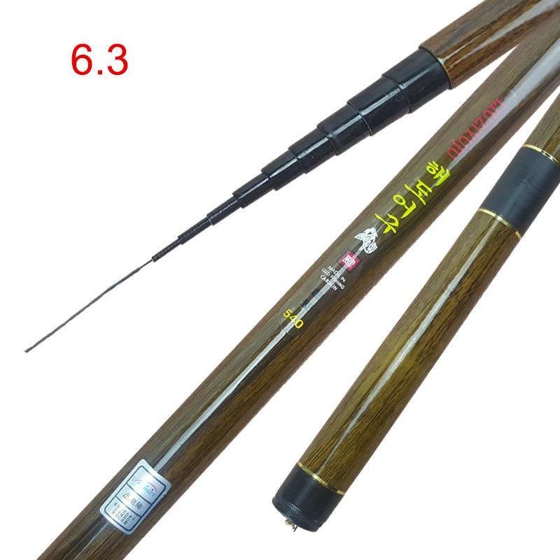 Карбоновая удочка телескопическая Сверхлегкая жесткая удочка для потокового пресноводного BHD2|Удочки|   | АлиЭкспресс