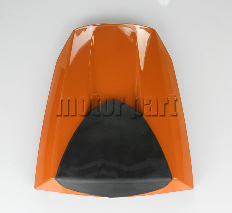 For 2013-2014 Honda CBR600RR CBR600 RR F5 Motorcycle Pillion Rear Seat Cover Cowl Orange 13 14 for honda cbr500r 2013 2014 motorbike seat cover cbr 500 r brand new motorcycle orange fairing rear sear cowl cover