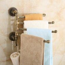 Мода античный вешалка для полотенец vintage ванная комната вешалка для полотенец аксессуары для ванной комнаты