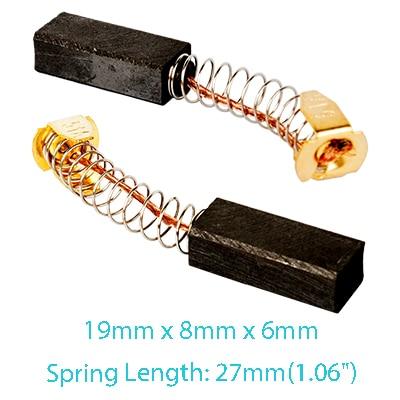 13/x 8/x 7/mm uxcell Power Tool Moteur /électrique Carbone brosses 10/paires