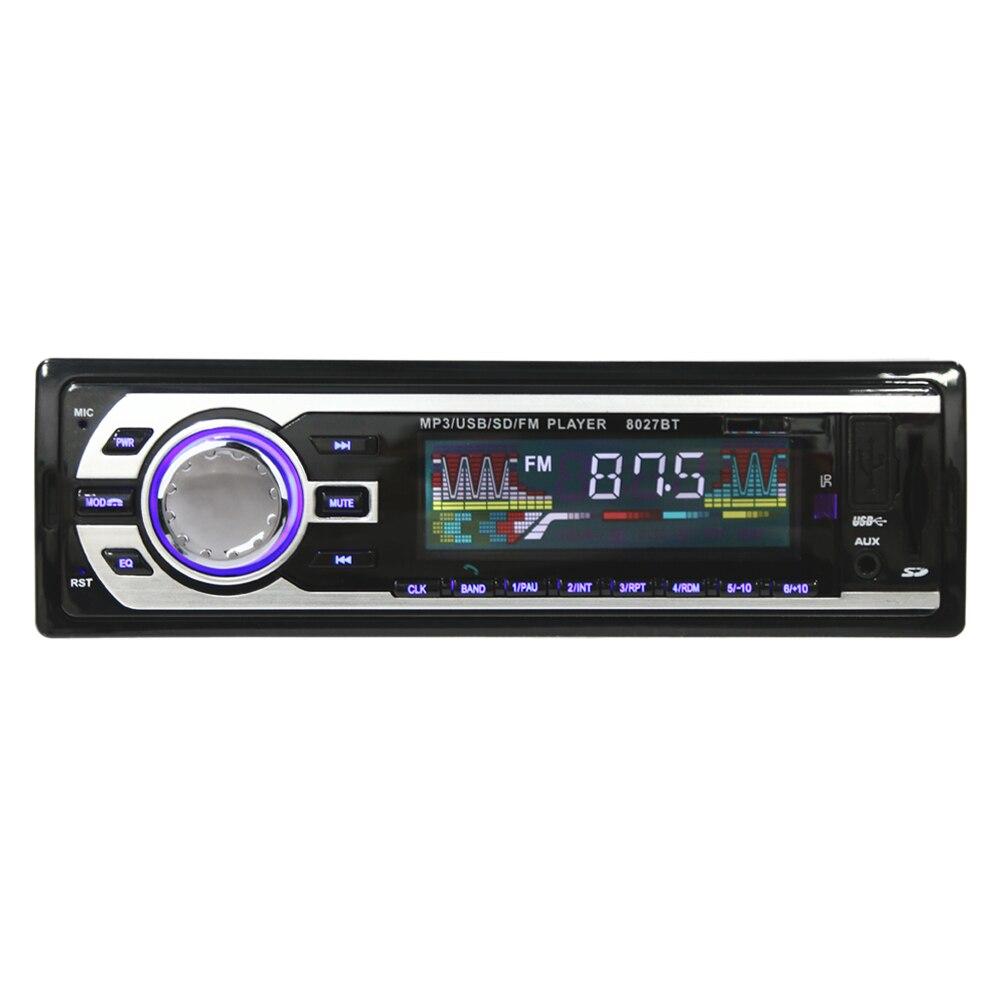 1 Din font b Car b font Radio FM Bluetooth Auto font b Audio b font