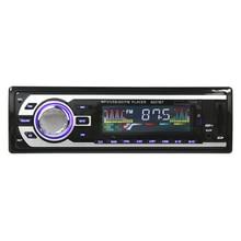 1 Din Автомобильный Радиоприемник FM Bluetooth Авто Аудио В тире Поддержка Стерео Музыку Дистанционного USB 12 В Автомобильный Mp3 плеер громкой