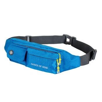 цена на Weduoduo Unisex waist pack men waterproof fanny Lightweight waist bag women belt bum bag male phone wallet Pouch Bags