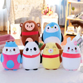 2016 Animal League tercera generación de partículas de espuma de almohada juguetes de peluche super suave telas estancia Meng muñeca regalo de cumpleaños