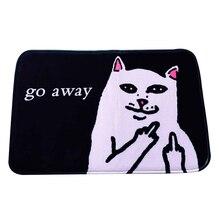 Главная carpet cat уйти прямоугольные carpet гостиной комнатой спальня стиральная бытовая противоскользящие коврики 40*60 см горячие подарки