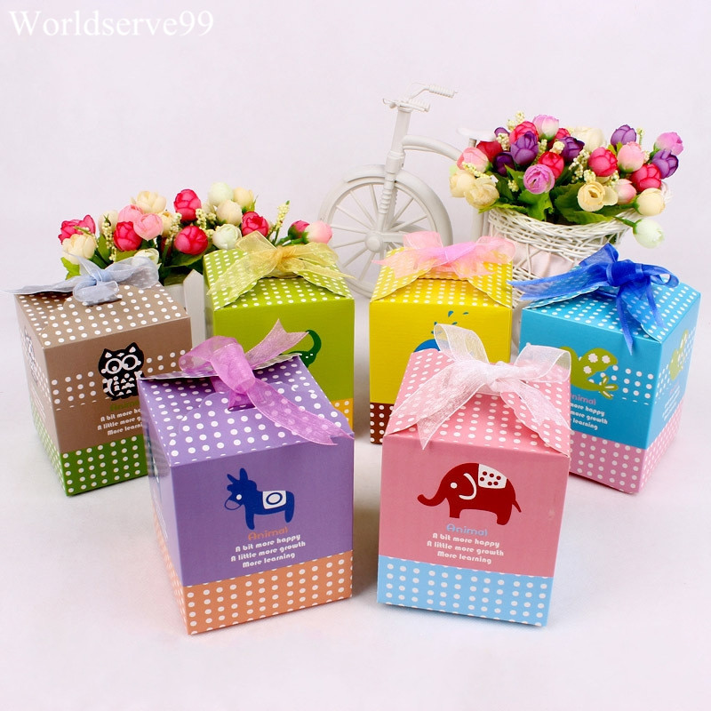 favor candy boxes xmas birthday party baby shower chocolate holder