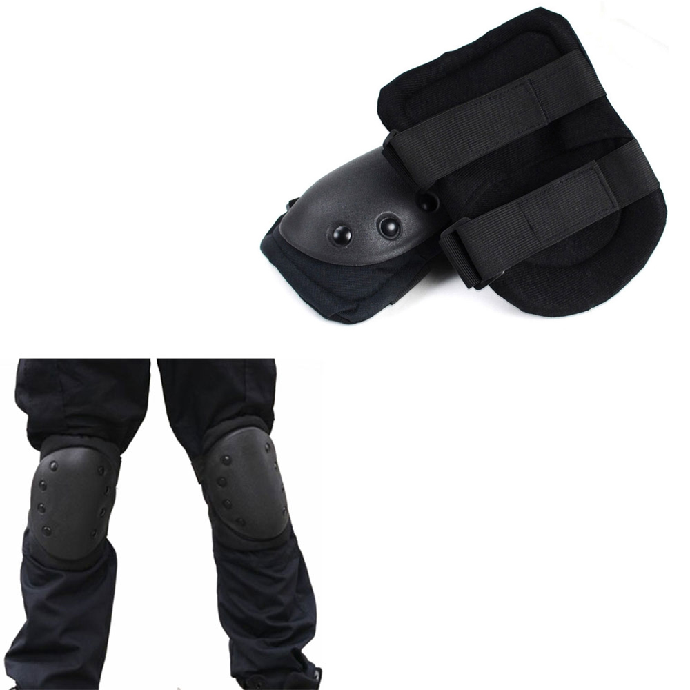 Skate Protective Knee Pad Military Elbow Pads Tactical Protective Paintball Combat Airsoft Paintball Gear Hunting Equipment 4pcs set adult tactical combat protective pad set gear sports military knee elbow protector elbow
