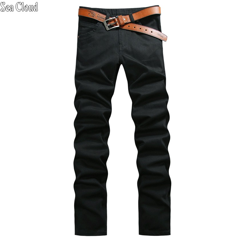 Sea Cloud Free shipping loose straight pants plus length 125 cm jeans male plus size long trousers extra long male military free shipping autumn and winter male straight plus size trousers loose thick pants extra large men s jeans for weight 160kg