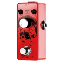 New ENO Ex Ebod Overdrive Bass Guitar Effect Pedal Full Metal Shell True Bypass For Guitar Accessories
